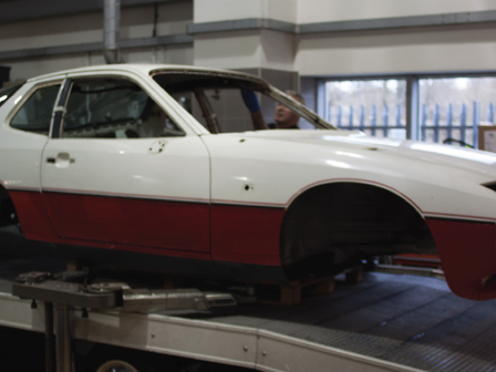 Porsche Tonbridge Restoration Project - Ready to go to the Bodycentre