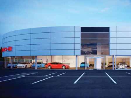 Porsche Centre Tonbridge - New Centre Overview