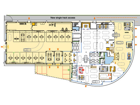 New Building Layout