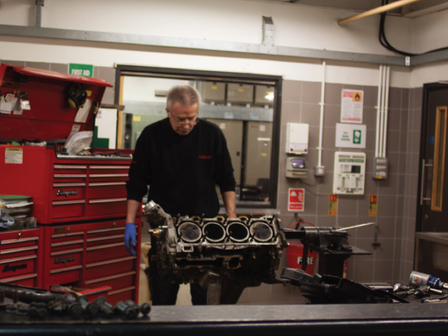 Porsche Tonbridge Restoration Project - The Engine