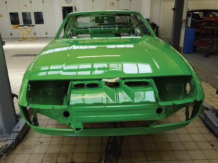 Porsche Tonbridge Restoration Project