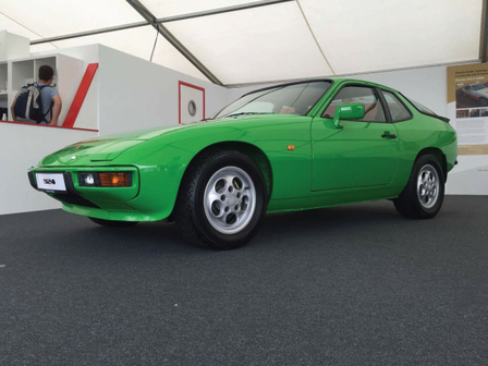 Porsche Centre Tonbridge 924 Classic Restoration Project